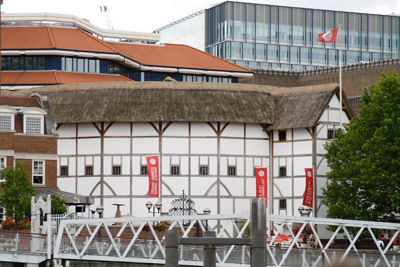 The accurate, working replication of Shakespeare's Globe Theatre